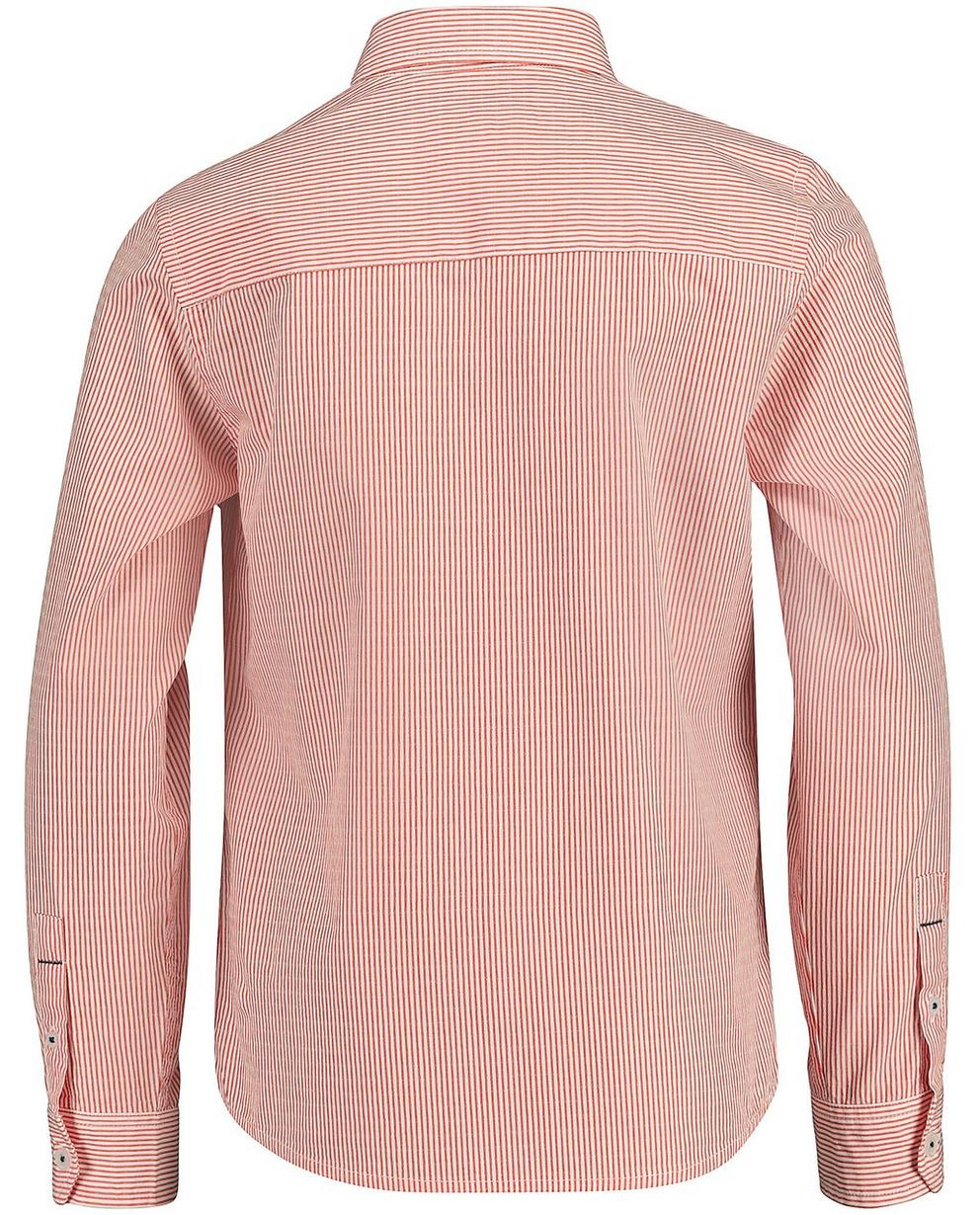 Hemden - Pflaume - Fein gestreiftes Hemd